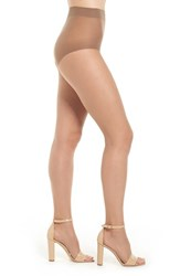 Donna Karan Women's The Nudes Control Top Toeless Pantyhose B04