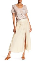 Zadig And Voltaire Jeda Dob Deluxe Silk Skirt White