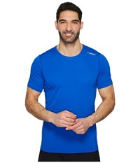 Brooks Ghost Short Sleeve Royal Workout Navy