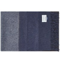 Norse Projects X Begg And Co. Scarf Blue