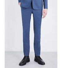 Sandro Tapered Tailored Fit Wool Light Blue