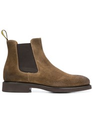 Doucal's Chelsea Boots Brown