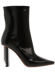 Vetements 90Mm Reflector Heel Ankle Boots
