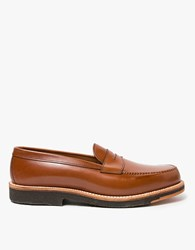 Alden Monroe Penny Loafer Dark Tan