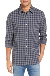 Jack Spade Men's Grant Double Face Gingham Sport Shirt