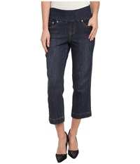 Jag Jeans Caley Classic Fit Crop In Blue Shadow Blue Shadow Women's Jeans