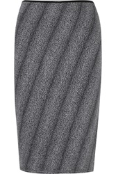 Missoni Wool Blend Boucle Skirt Gray