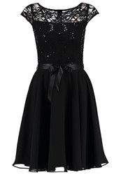 Swing Cocktail Dress Party Dress Schwarz Black