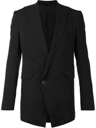 Julius Side Vent Blazer Black