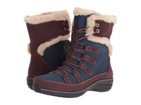 Aetrex Berries Short Lace Up Boot Blueberry Women's Cold Weather Boots