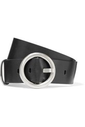 Michael Kors Collection Woman Leather Belt Black