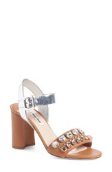 Miu Miu Women's Jewel Sandal