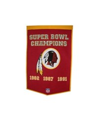 Winning Streak Washington Redskins Dynasty Banner Team Color