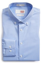 1901 Trim Fit Dress Shirt Blue