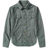 Save Khaki Fleece Lined Multi Pocket Jacket Blue