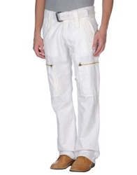 Gaudi Jeans And Style Casual Pants Ivory