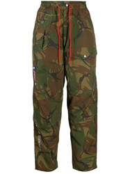 Polo Ralph Lauren Camouflage Print Trousers Green