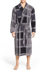 Nordstrom Terry Shawl Robe Black