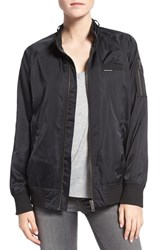 Members Only Women's 'Ex Boyfriend' Bomber Jacket Black