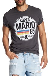 Fifth Sun Mario Is Go Tee Gray