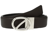 Z Zegna Reversible Bkibg1 H35mm Belt Dark Brown Black
