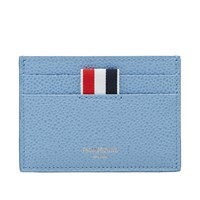 Thom Browne Single Card Holder Blue