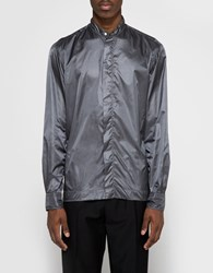 Gitman Brothers Vintage Mini Rip Stop Shirt Jacket Charcoal