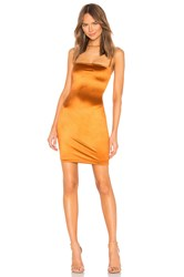 Nookie X Revolve Charlize Mini Dress Rust