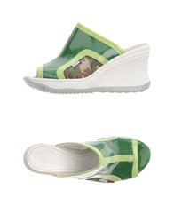 Ruco Line Footwear Sandals Women Green