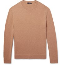 Theory Donners Cashmere Sweater Camel