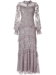 Needle And Thread Ava Lace Trimmed Tulle Gown 60