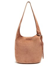 Elizabeth And James Finley Courier Leather Bag Tan