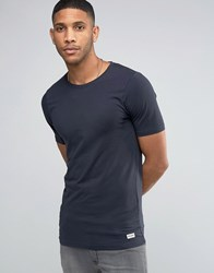 Only And Sons Muscle Fit T Shirt Navy