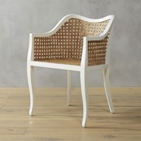 Cb2 Tayabas Cane Side Chair
