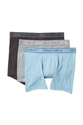 Vince Camuto Boxer Briefs Pack Of 3 Lt. Blue Heather Grey Heather Ch