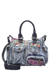 Desigual London Ethnic Handbag Multicolor Multicoloured