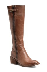 Brn Women's B Rn Poly Riding Boot Cookie Dough Leather