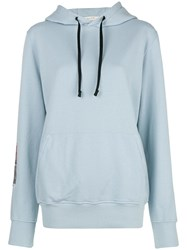 Alyx Patched Hoodie Blue