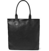Bennett Winch Full Grain Leather Tote Bag Black