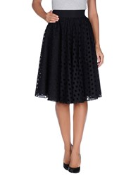 Francesco Scognamiglio Skirts Knee Length Skirts Women Black