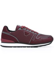 Armani Jeans Classic Sneakers Red