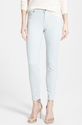 Women's Cj By Cookie Johnson 'Wisdom' Colored Stretch Ankle Skinny Jeans Light Grey