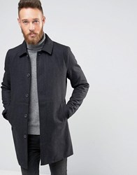 Only And Sons Wool Trench Gray