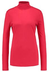 J.Crew Tissue Long Sleeved Top Chili Pepper Red
