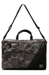 Men's Harvest Label 'Nighthawk' Briefcase Green Camo