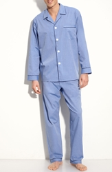 Majestic International Cotton Pajamas Blue