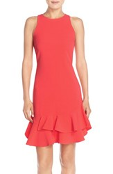 Chelsea 28 Women's Chelsea28 Tiered Ruffle Hem Dress