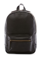 T Shirt And Jeans Dome Backpack Black