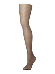 Charnos Chevron Tights Black