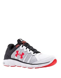 Under Armour Assert 6 Running Shoes White Red Black